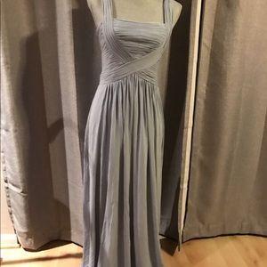 BCBG Goddess Blue Gown